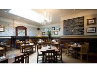 Bar and Floor staff needed for amazing gastro pub