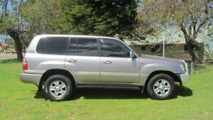 2004 Toyota Landcruiser HDJ100R Sahara Grey 5 Speed Automatic Wagon Welshpool Canning Area Preview