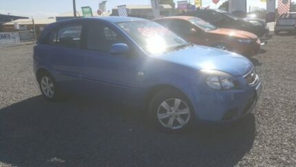 2010 Kia Rio JB MY11 S Blue 5 Speed Manual Hatchback