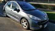 2007 Peugeot 207 XT HDI Grey 5 Speed Manual Hatchback Nailsworth Prospect Area Preview