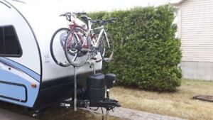 Trailer Tongue Mount Bike Rack (Futura GP)  for 2 bikes only