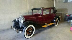 1928 Buick Master Maroon 3 Speed Manual Coupe Capalaba Brisbane South East Preview