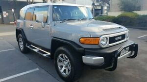 2013 Toyota FJ Cruiser GSJ15R MY14 Silver 5 Speed Automatic Wagon Melrose Park Mitcham Area Preview