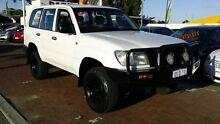 2003 Toyota Landcruiser HZJ105R Standard White 5 Speed Manual Wagon Victoria Park Victoria Park Area Preview