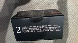 BRAND NEW Bodum Pavina Double Wall 8.5-Ounce Thermo-Glasses London Ontario image 2
