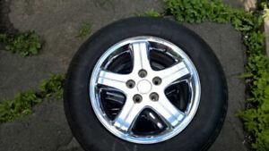 16 inch Chrome rims for Dodge / Chrysler  5 x 114.3 bolt pattern