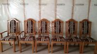QUICK SALE: 6 Chair Wooden Dining Table - Excellent condition