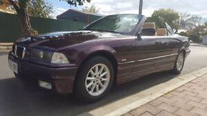 1998 BMW 328I E36 Executive 5 Speed Automatic Convertible Medindie Walkerville Area Preview