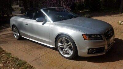 2010 Audi S5 Premium Plus 2010 AUDI S5 PREMIUM PLUS QUATTRO AWD CONVERTIBLE