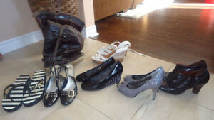 souliers et bottes d'hiver grandeur 9