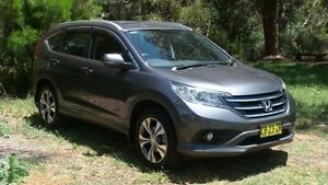 2014 Honda CR-V RM MY15 VTi 4WD Plus Grey 5 Speed Sports Automatic Wagon Oaks Estate Queanbeyan Area Preview