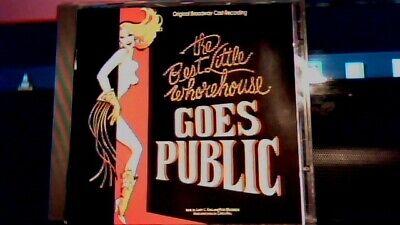 THE BEST LITTLE WHOREHOUSE GOES PUBLIC ORIGINAL BROADWAY CAST EX DEE