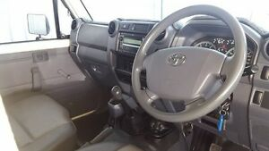 2010 Toyota Landcruiser VDJ79R MY10 Workmate 5 Speed Manual Cab Chassis Miles End Mt Isa City Preview