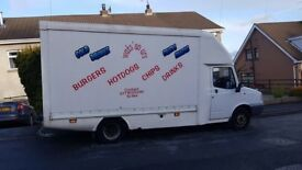 LDV Convoy Burger / Chip / Catering / Hot food Van Full 5 star rating and High Spec Must be seen!!