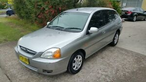 2003 Kia Rio BC Silver 5 Speed Manual Hatchback Macquarie Hills Lake Macquarie Area Preview