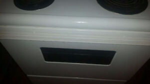 Frigidaire oven stove cooker (little fire incident)