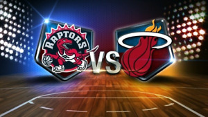 Raptors vs Miami Heat - SUN APRIL 7 - *Lower Bowl*