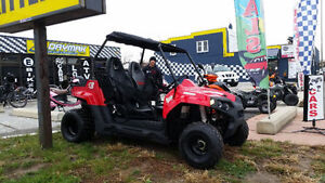 Odes 150cc UTV (Seats 2) Deluxe with roof