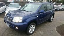 2003 Nissan X-Trail T30 TI (4x4) Blue 4 Speed Automatic Wagon Maidstone Maribyrnong Area Preview
