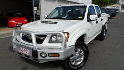 2008 Holden Colorado RC LX White 5 Speed Manual Utility Southport Gold Coast City Preview