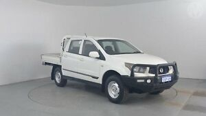 2012 Ssangyong Actyon Sports Q100 MY12 SX (4x4) Grand White 6 Speed Automatic Utility Perth Airport Belmont Area Preview
