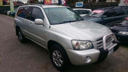 2003 Toyota Kluger MCU28R CVX (4x4) Gold 5 Speed Automatic Wagon Maidstone Maribyrnong Area Preview