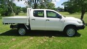 2015 Toyota Hilux KUN26R MY14 SR Double Cab White 5 Speed Automatic Cab Chassis Winnellie Darwin City Preview