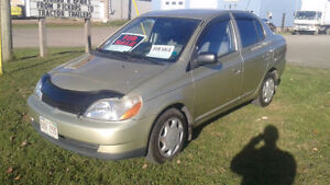2001 Toyota Echo Fuel Sipper With NEW MVI!