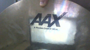 """Sabian AAX 19"""" Explosion Crash and a 14' HHX Chinese Evolution"""