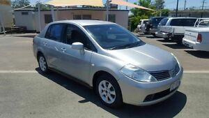 2006 Nissan Tiida C11 ST-L Silver 6 Speed Manual Sedan Coopers Plains Brisbane South West Preview