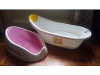 Angelcare soft touch baby bath + baby bath tub