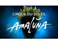 Amaluna (cirque de soliel) sat 21st Jan 8.30 pm