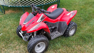 KIDS 90 CC ATV FOR SALE BARELY USED