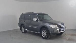 2014 Mitsubishi Pajero NW MY14 Exceed Graphite Grey 5 Speed Sports Automatic Wagon Perth Airport Belmont Area Preview