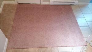 tapis 73x60 propre et sans tache rose
