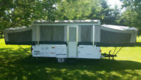 Coleman Fairview 12' Pop up with 2 King beds and Dining Push Out