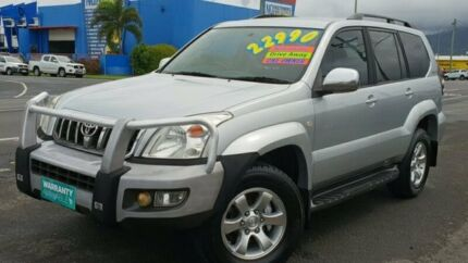 2008 Toyota Landcruiser Prado GRJ120R GXL Silver 5 Speed Automatic Wagon Bungalow Cairns City Preview