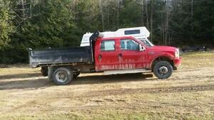 Dump Truck - 2002 Ford F 550, optional Boss V Snow Plow