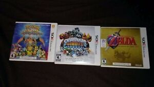 Three Nintendo 3DS Games - Excellent Condition w/ Cases