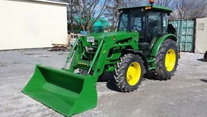 2012 John Deere 5083E Limited Series MFWD Tractor