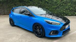 2017 Ford Focus LZ RS AWD Blue 6 Speed Manual Hatchback Mornington Mornington Peninsula Preview