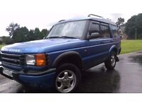 Landrover Discovery GS TD5 2000(X reg), mot april, ready to drive away