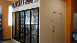 Glass door walk-in coolers/freezers for sale