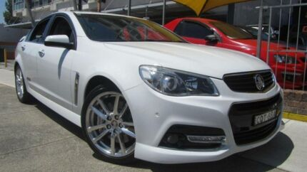 2013 Holden Commodore VF SS-V Redline White 6 Speed Manual Sedan Homebush Strathfield Area Preview