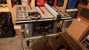 """10"""" Delta Table Saw 13amp with stand"""