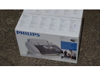 Phillips Inkjet Fax Machine. New, boxed
