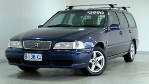 1998 Volvo V70 20V Blue 4 Speed Automatic Wagon Hobart CBD Hobart City Preview
