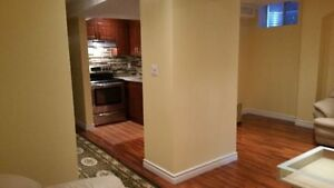 Very spacious bedroom basement apartment for rent new