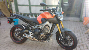 CertIFIED,  2014 Yamaha FZ900-Almost NEW under 1000 km