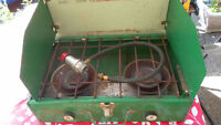 Coleman portable gas stove or best offer very good working condi
